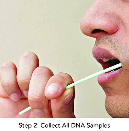 My Forever DNA Paternity Testing Kit Step 2: collect all DNA samples